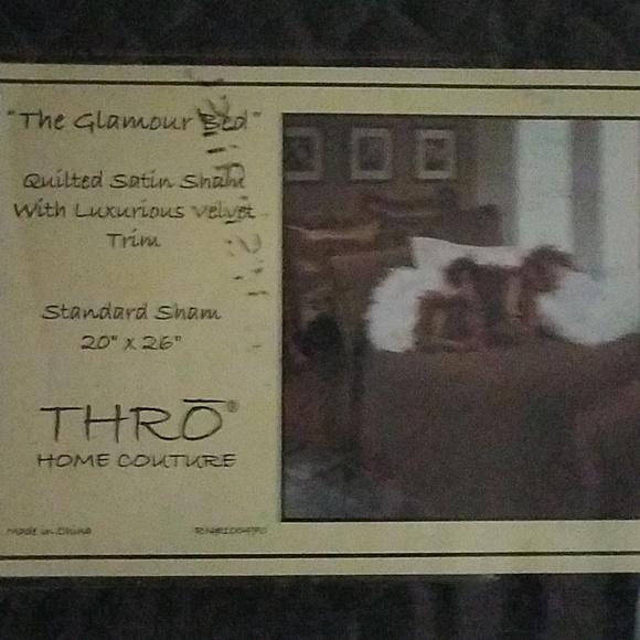 THRO Home Couture Standard Pillow Sham
